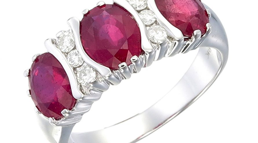 Trilogy Ruby light Ring