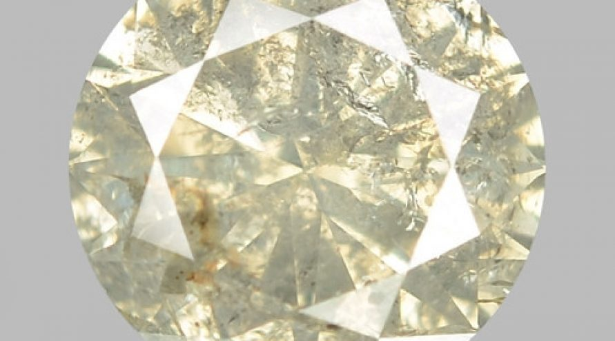 0.80 UNTREATED FANCY BROWNISH YELLOW NATURAL LOOSE DIAMOND