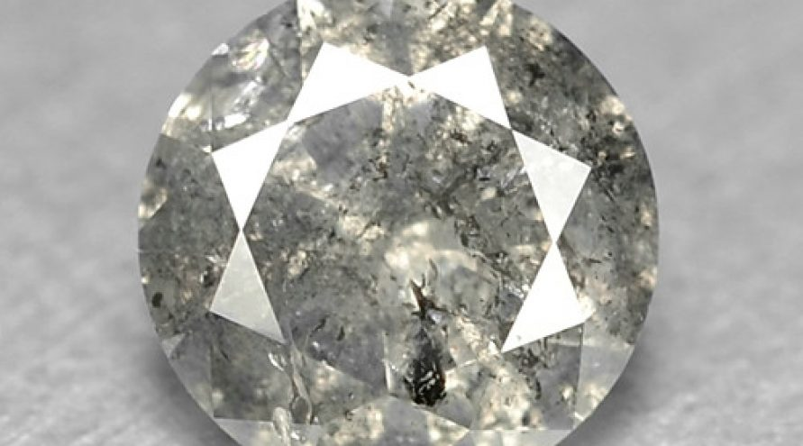 0.35 Cts UNTREATED FANCY GREY NATURAL LOOSE DIAMOND