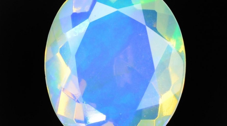 1.30 Cts Very Rare Natural Ethiopian Opal Loose Gemstone