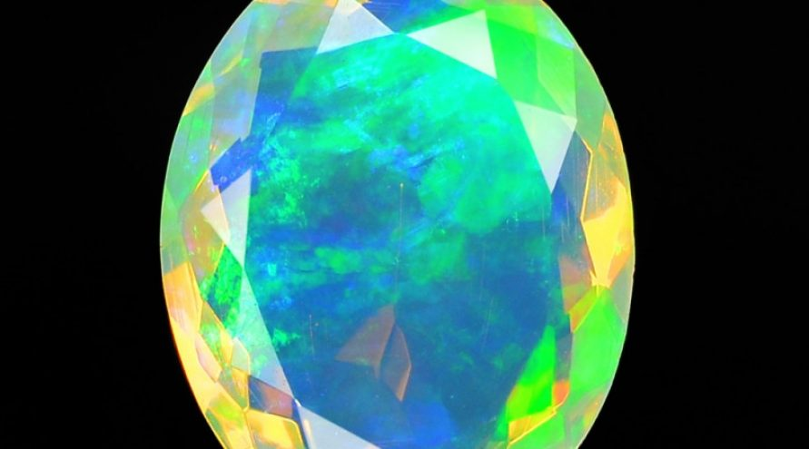 1.35 Cts Very Rare Natural Ethiopian Opal Loose Gemstone