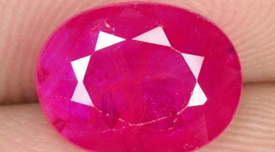 NATURAL PINKISH RED RUBY LOOSE GEMSTONE