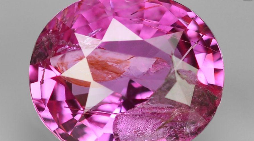 Rare Pink Sapphire Natural Loose Gemstones
