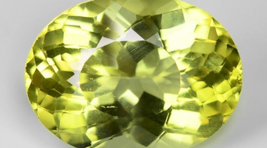4.29 Cts Greenish Yellow Color Natural Torurmaline Gemstone