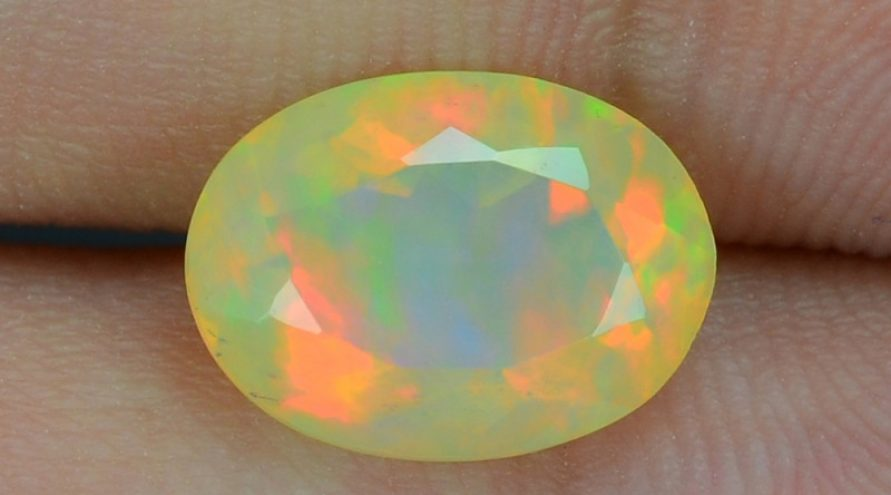 1.62 Cts World Very Rare Natural Ethiopian Opal Loose Gemstones