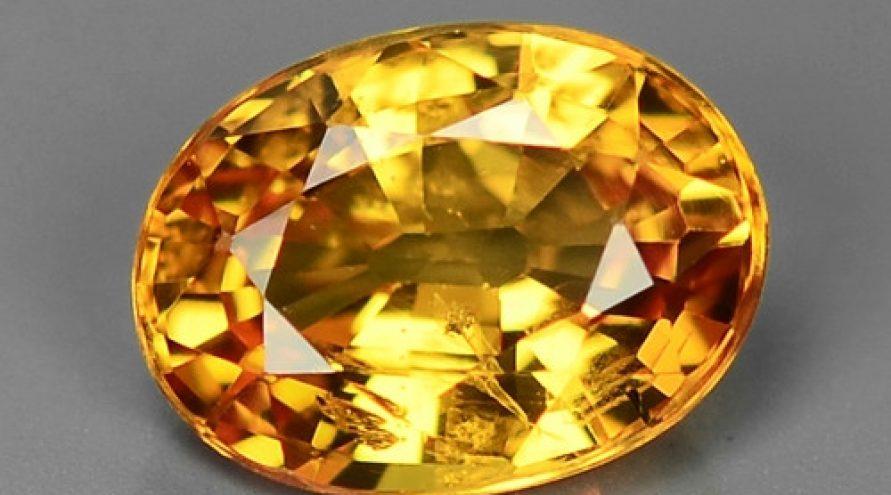 Very Rare Orange Color Sapphire Loose Gemstones