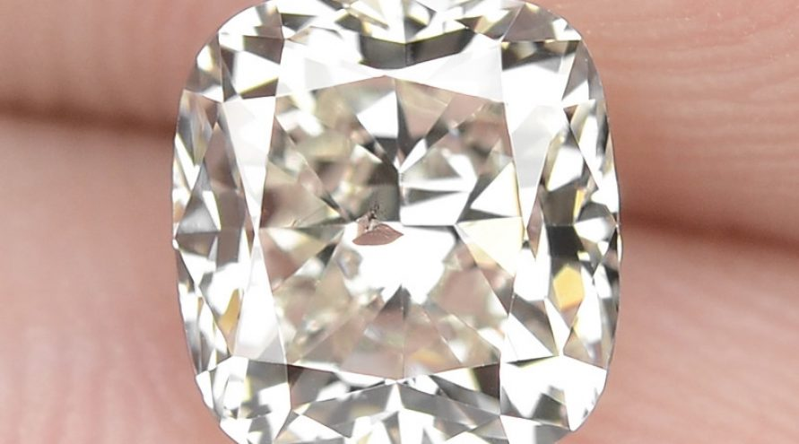 """1.15 Cts Excellent Sparkling Untreated Natural White """" J """" Color Loose Diamond"""