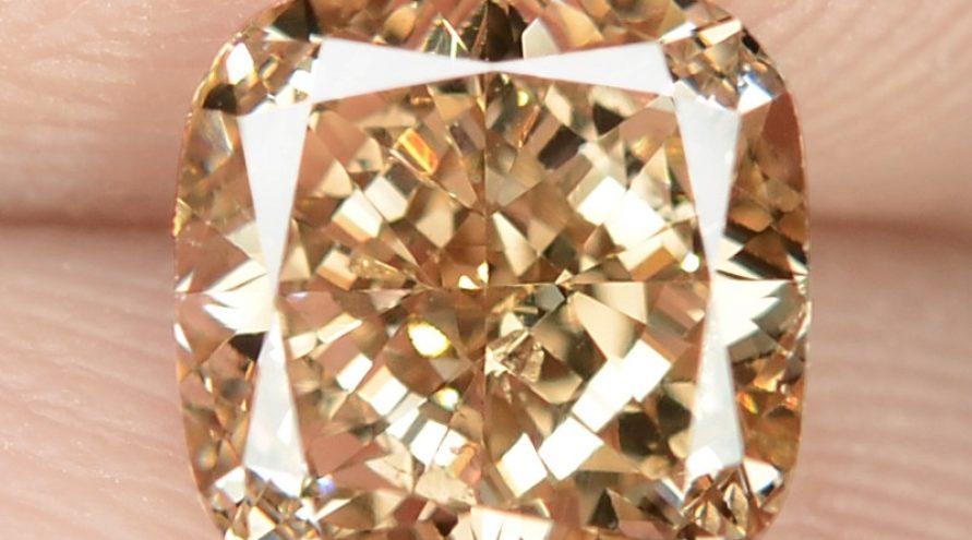 1.12 Untreated Fancy Intense Vivid Brownish Orange Natural Loose Diamond-VS1