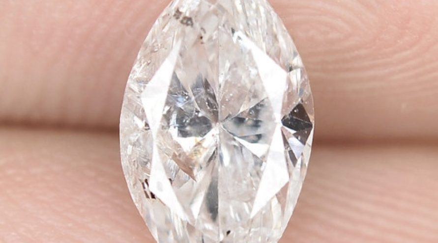 1.13 Cts SPARKLING UNTREATED WHITE COLOR NATURAL LOOSE DIAMOND