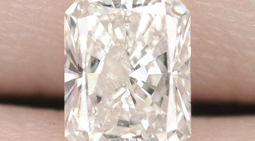 0.54 UNTREATED WHITE K COLOR NATURAL LOOSE DIAMOND