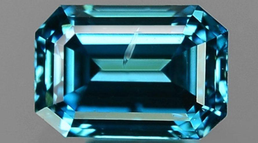 0.18 Cts Sparkling Fancy Intense Blue Color Natural Diamond