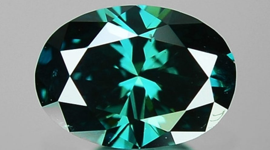 0.23 Cts Sparkling Fancy Greenish Blue Color Natural Diamond