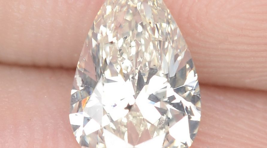 """1.05 Cts Excellent Sparkling Untreated Natural White """" J """" Color Loose Diamond"""