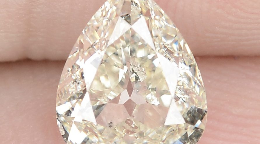 """1.51 Cts Excellent Sparkling Untreated Natural White """" K """" Color Loose Diamond"""