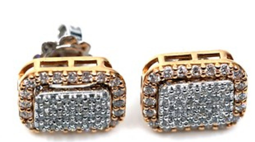MULTI STYLE 18K YELLOW GOLD AND DIAMOND EARRINGS